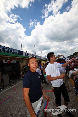 #24 His Advan Kondo GT-R: Hironobu Yasuda