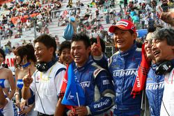 GT500 winner: #17 Keihin HSV-010: Toshihiro Kaneishi, Koudai Tsukakoshi