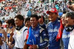 GT500 winnaar: #17 Keihin HSV-010: Toshihiro Kaneishi, Koudai Tsukakoshi