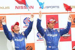 GT500 podium winner: #17 Keihin HSV-010: Toshihiro Kaneishi, Koudai Tsukakoshi