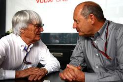 Bernie Ecclestone y Ron Dennis, McLaren
