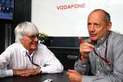 Берни Экклстоун и Рон Деннис, McLaren