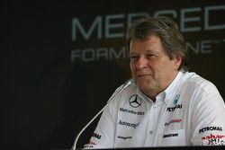 Norbert Haug, Mercedes, Director de Motorsport