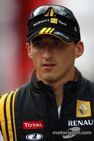 Robert Kubica, Equipo Renault F1