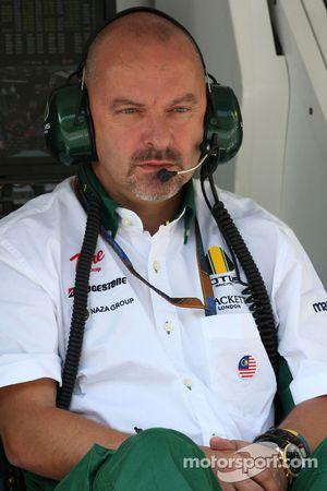 Mike Gascoyne, director del proyecto del Team Lotus