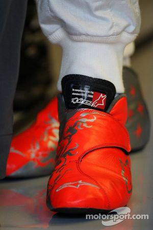 Las botas de Michael Schumacher, Mercedes GP