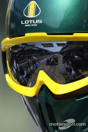 Lotus F1 Team mecánicos