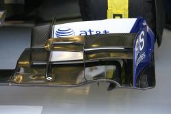 L'aileron avant de Williams
