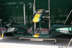 Ala delantera Lotus