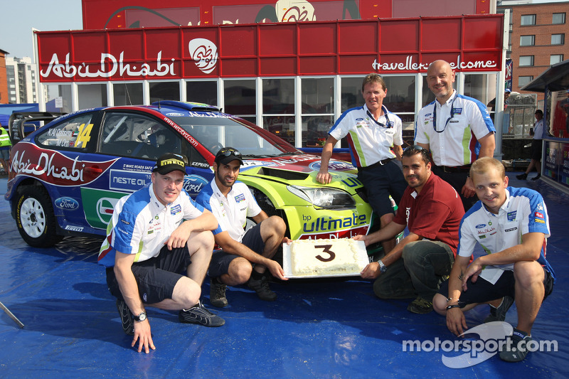BP Ford Abu Dhabi World Rally Team, Abu Dhabi Sponsoring