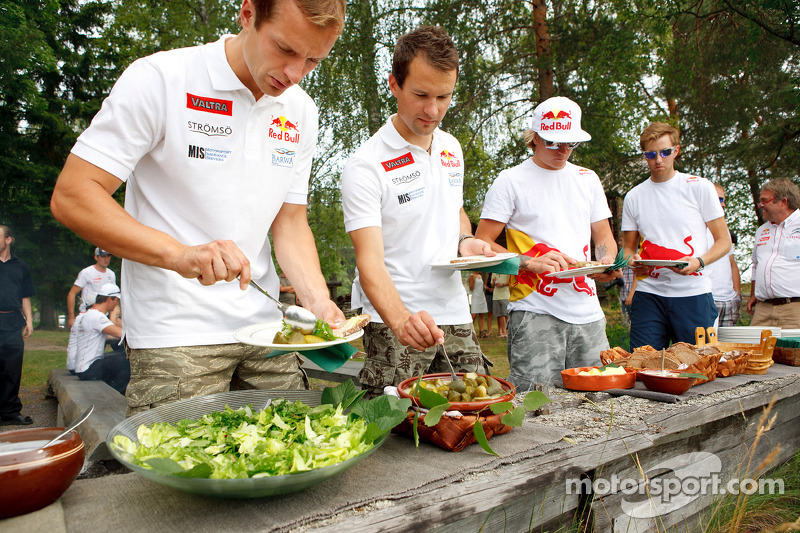 Citroën lunch: het Citroën team