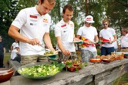 Citroën lunch: l'équipe Citroen