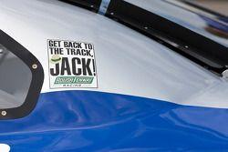 Les voitures du Roush Fenway présentent leurs meilleurs vœux à Jack Roush