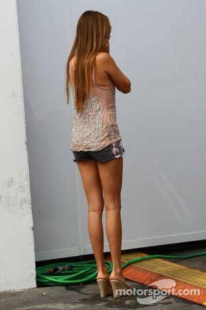 Jessica Michibata novia de Jenson Button