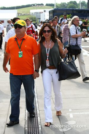 Padres de Felipe Massa, Scuderia Ferrari