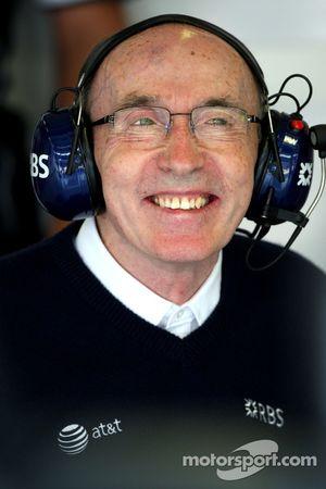 Sir Frank Williams, jefe de equipo WilliamsF1, Director