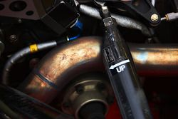 Exhaust and suspension detail