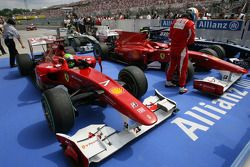 Fernando Alonso, Scuderia Ferrari y Felipe Massa, Scuderia Ferrari