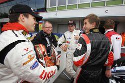 Sergey Afanasiev, Dean Stoneman and Nicola de Marco