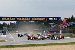 The start of race one