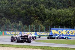 Jack Clarke spins in race one