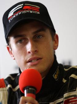 Nicola de Marco in the post race press conference