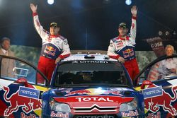 Podium: 3de Sébastien Loeb en Daniel Elena