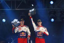 Podium: 2de Sébastien Ogier en Julien Ingrassia