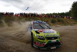 Яри-Матти Латвала и Микка Анттила, Ford Focus RS WRC08, BP Ford Abu Dhabi World Rally Team