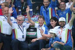 Party Time for BP Ford Abu Dhabi World Rally Team