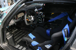 Cockpit of #1 Vitaphone Racing Team Maserati MC12