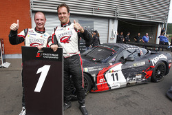 Qualifying race winners Xavier Maassen and Jos Menten