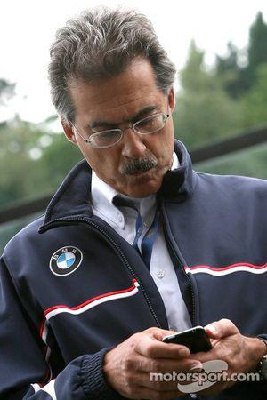 Mario Theissen, head of Motorsport BMW