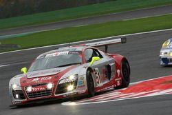 #51 Phoenix Racing Audi R8 LMS GT3: Alexandros Margaritis, Marc Hennerici, Andrea Piccini, Henri Moser