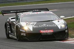 #84 Reiter ingénieuring Lamborghini LP560-4 GT3: Peter Kox, Marc Hayek, Ettore Bonaldi, Jeffrey Lee