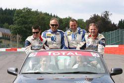 #17 IMSA Performance Matmut Porsche 911 GT3 RS GT2: Christophe Bourret, Pascal Gibon, Jean-Philippe Belloc, Richard Baletras