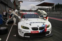 Pitstop #79 BMW Motorsport BMW M3 GTN: Dirk Werner, Dirk Müller, Dirk Adorf