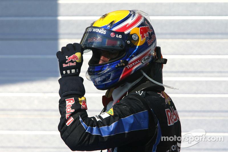 Yarış galibi Mark Webber, Red Bull Racing