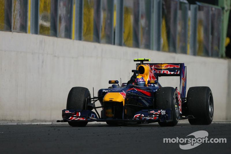 Mark Webber, Red Bull Racing wins race