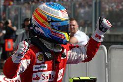 Tercer lugar Fernando Alonso, Scuderia Ferrari
