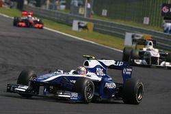 Nico Hulkenberg, Williams F1 Team y Pedro de la Rosa, BMW Sauber F1 Team