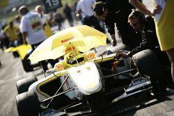 Renger Van Der Zande op de grid