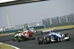 Roberto Merhi leads Rio Haryanto
