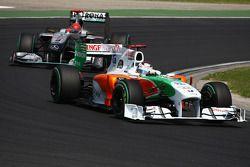 Andy Soucek yMichael Schumacher, Mercedes GP