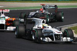 Pedro de la Rosa, BMW Sauber F1 Team y Adrian Sutil, Force India F1 Team