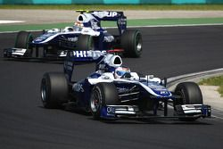 Rubens Barrichello, Williams F1 Team y Nico Hulkenberg, Williams F1 Team