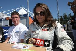 Natalia Kowalska lors de la session d'autographes