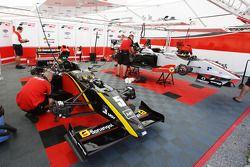 Ricardo Teixeira in the garage