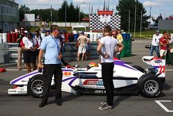 Kazim Vasiliauskas on the grid