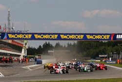 The start of race two